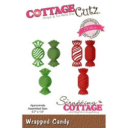 Cottage Cutz - Die - Wrapped Candy (Elite)