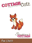 Cottage Cutz-3x3 Dies-Fox