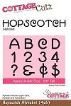 Cottage Cutz-Die-Hopscotch Alphabet