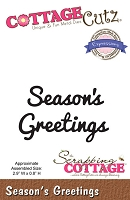Cottage Cutz - Expressions Die - Season's Greetings