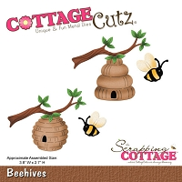 Cottage Cutz - Die - Beehives (4x4)