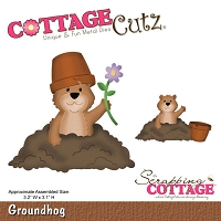 Cottage Cutz - Die - Groundhog (4x4)