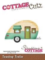 Cottage Cutz - Die - Teardrop Trailer