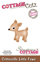 Cottage Cutz - Die - Critterville Little Fawn