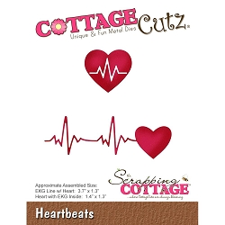 Cottage Cutz - Die - Heartbeats