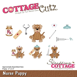 Cottage Cutz - Die - Nurse Puppy