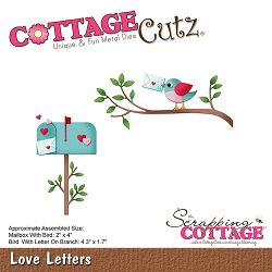 Cottage Cutz - Die - Love Letters