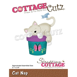 Cottage Cutz - Die - Cat Nap