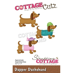 Cottage Cutz - Die - Dapper Dachshund