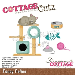 Cottage Cutz - Die - Fancy Feline