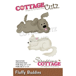 Cottage Cutz - Die - Fluffy Buddies