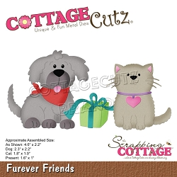 Cottage Cutz - Die - Furever Friends