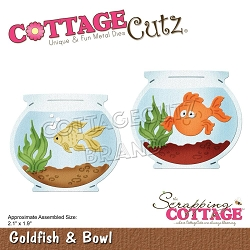 Cottage Cutz - Die - Goldfish & Bowl
