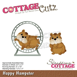 Cottage Cutz - Die - Happy Hamster