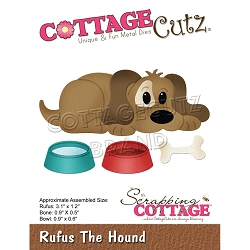 Cottage Cutz - Die - Rufus The Hound