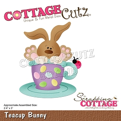 Cottage Cutz - Die - Teacup Bunny