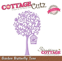 Cottage Cutz - Die - Garden Butterfly Tree