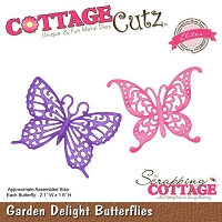Cottage Cutz - Die - Garden Delight Butterflies