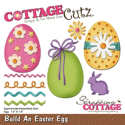 Cottage Cutz - Die - Build An Easter Egg