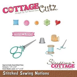 Cottage Cutz - Die - Stitched Sewing Notions