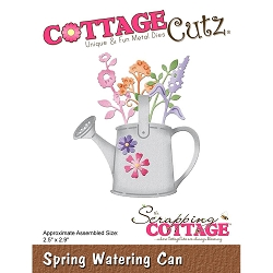 Cottage Cutz - Die - Spring Watering Can