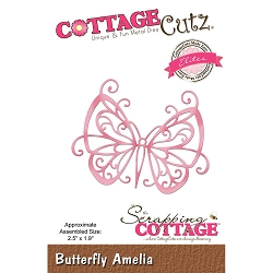 Cottage Cutz - Die - Butterfly Amelia (Elite)