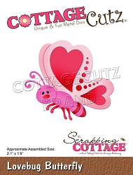 Cottage Cutz - Die - Lovebug Butterfly