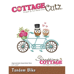 Cottage Cutz - Die - Tandem Bike