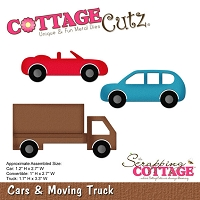 Cottage Cutz - Die - Cars & Moving Truck