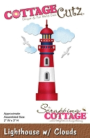 Cottage Cutz - Die - Lighthouse w/ Clouds