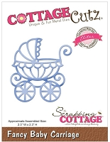 Cottage Cutz - Die - Fancy Baby Carriage