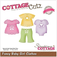Cottage Cutz - Die - Fancy Baby Girl Clothes