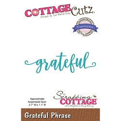 Cottage Cutz - Die - Grateful