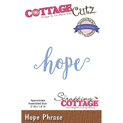 Cottage Cutz - Die - Hope