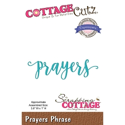 Cottage Cutz - Die - Prayers