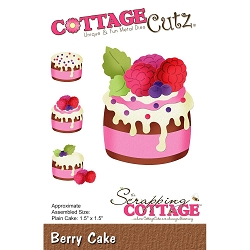Cottage Cutz - Die - Berry Cake