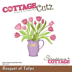 Cottage Cutz - Die - Bouquet Of Tulips