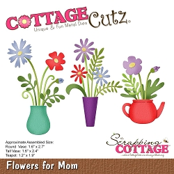 Cottage Cutz - Die - Flowers For Mom