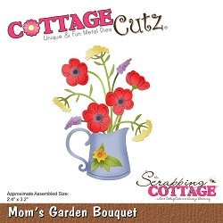 Cottage Cutz - Die - Mom's Garden Bouquet