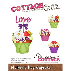 Cottage Cutz - Die - Mother's Day Cupcake