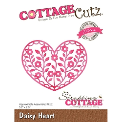 Cottage Cutz - Die - Daisy Heart