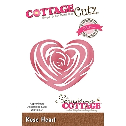 Cottage Cutz - Die - Rose Heart