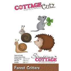 Cottage Cutz - Die - Forest Critters