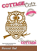 Cottage Cutz - Die - Harvest Owl