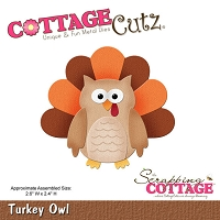 Cottage Cutz - Die - Turkey Owl