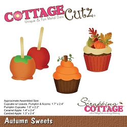 Cottage Cutz - Die - Autumn Sweets
