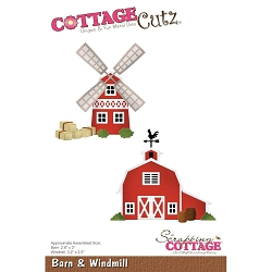 Cottage Cutz - Die - Barn & Windmill