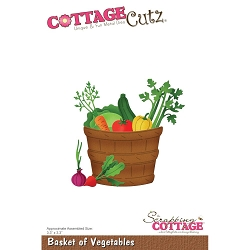 Cottage Cutz - Die - Basket of Vegetables