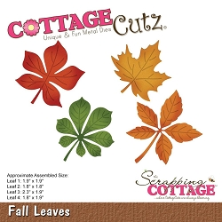 Cottage Cutz - Die - Fall Leaves