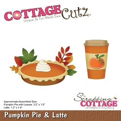 Cottage Cutz - Die - Pumpkin Pie & Latte